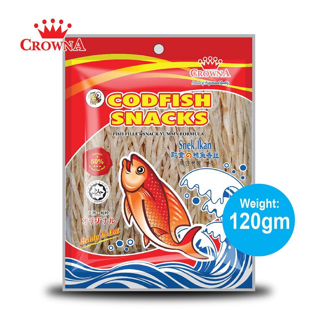 CrownA Codfish Snack 120 gram