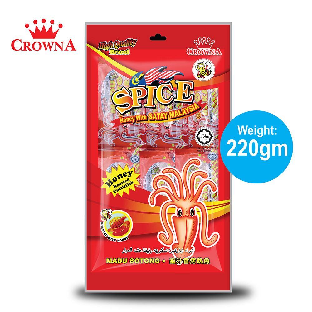 CrownA Spice with Satay M'sia 220 gram