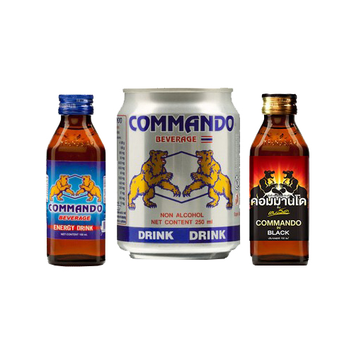 Commando Energy Drink