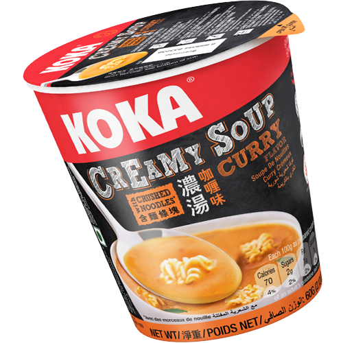 KOKA Creamy Soup - Curry