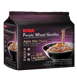 KOKA Purple Wheat Noodles - Aglio Olio