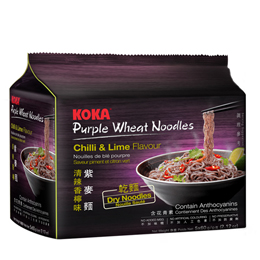 KOKA Purple Wheat Noodles Chilli & Lime