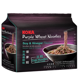 KOKA Purple Wheat Noodles Soy & Vinegar