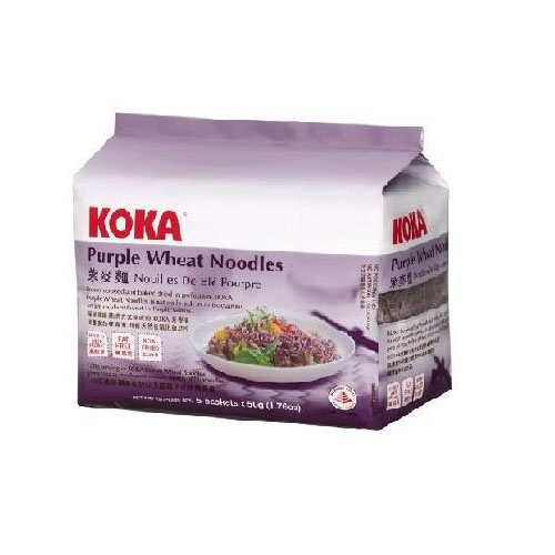Purple Wheat Noodles