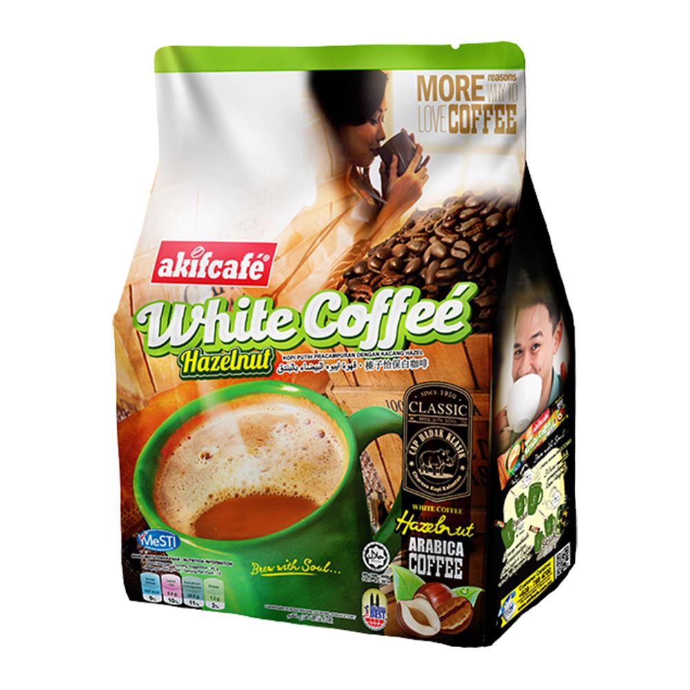 Akif Cafe White Coffee (Hazelnut)