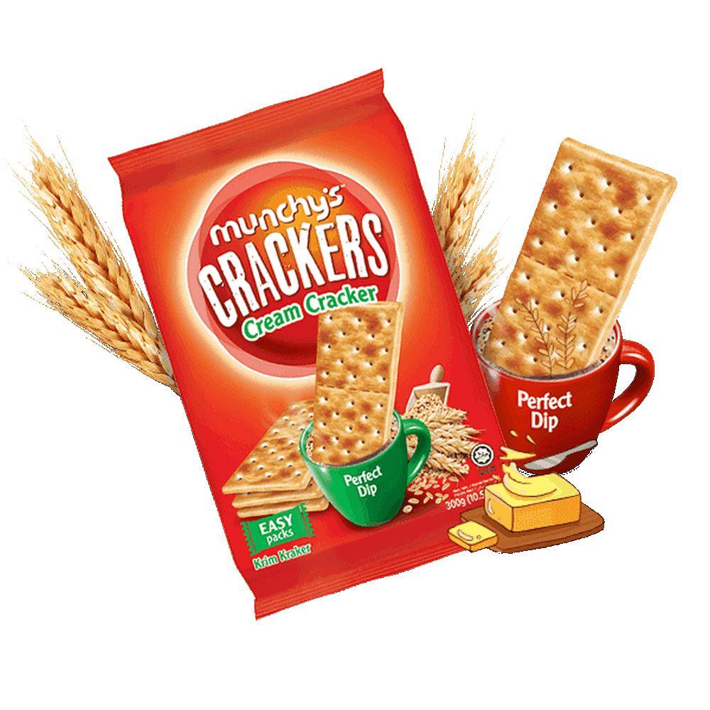 Munchy's Crackers Cream Cracker 25g