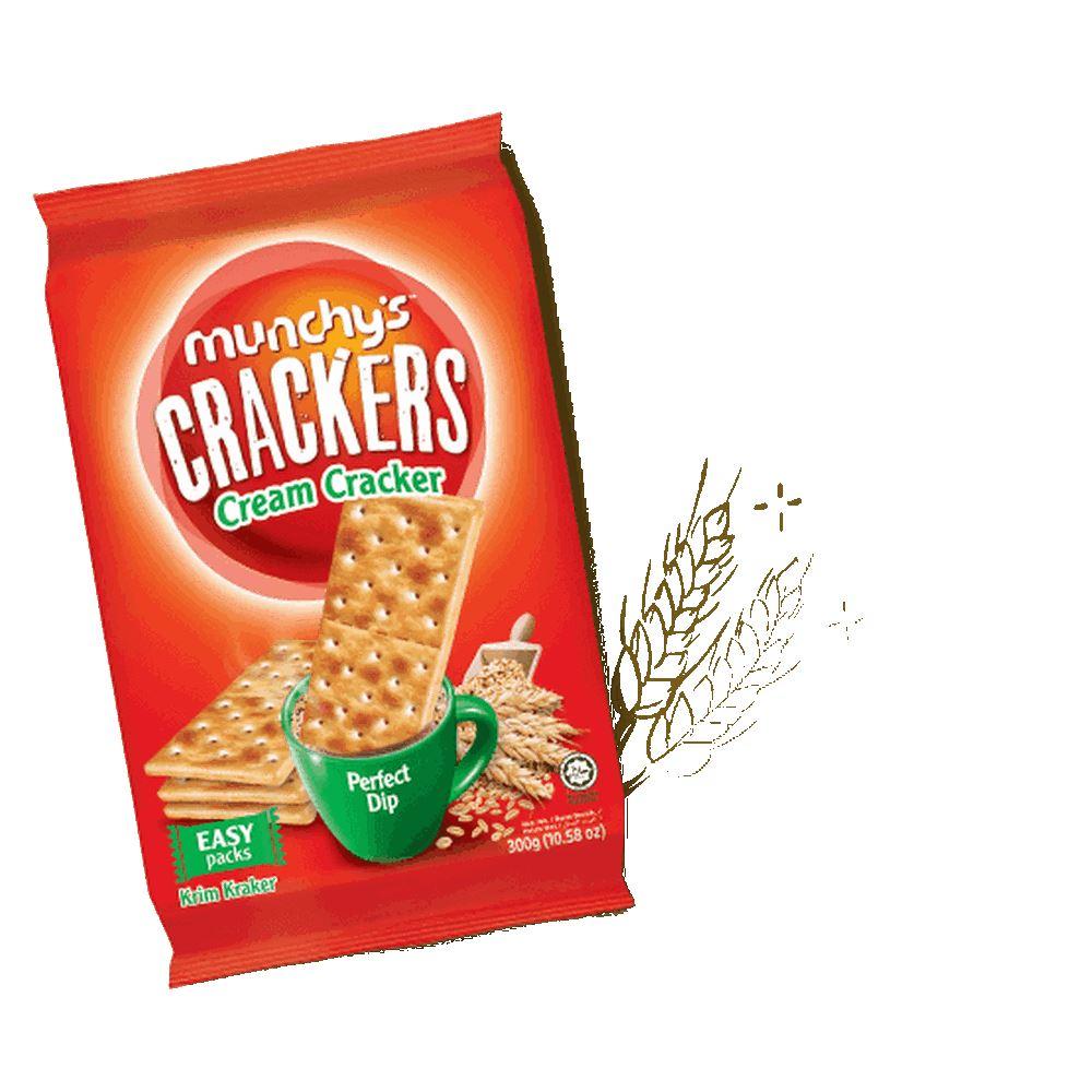 Munchy's Crackers Cream Cracker 300g