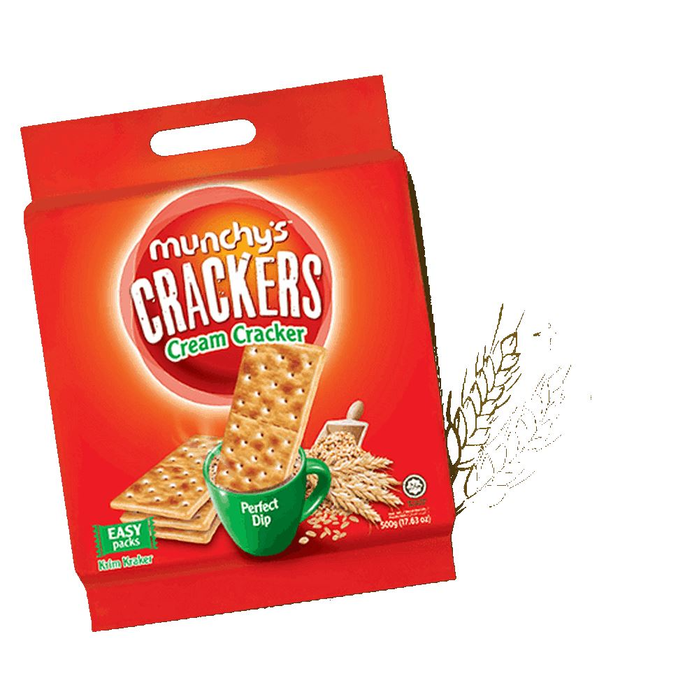 Munchy's Crackers Cream Cracker 500g