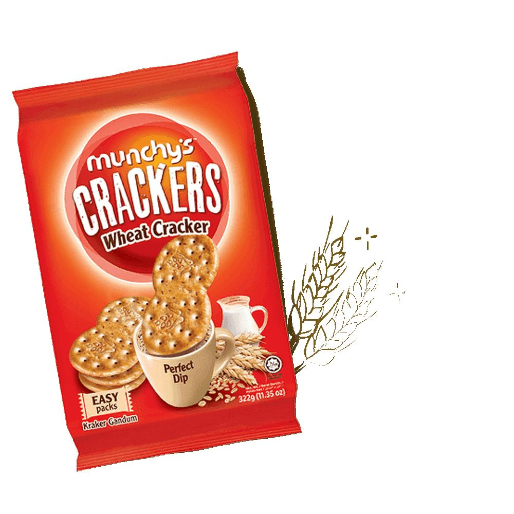 Munchy's Crackers Wheat Cracker 322g