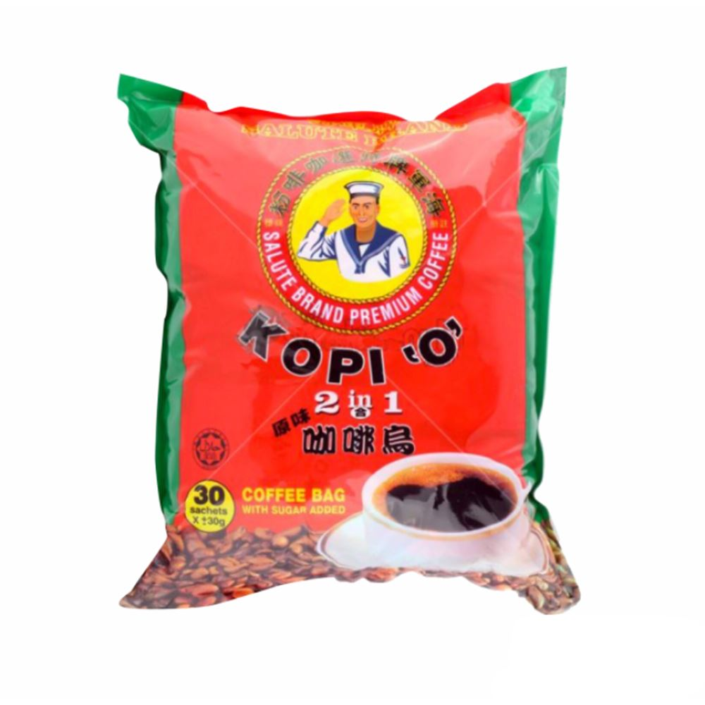 2 in 1 Kopi 'O' (Local Coffee with sugar added)