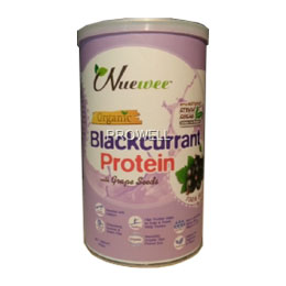 Nuewee Organic Blackcurrant Protein with Grape Seed