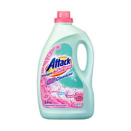 Attack Liquid Detergent plus Softener