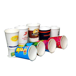 Paper cup and paper products
