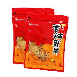 Flavouring rolled squid
