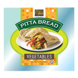 Vegetables Pitta Bread