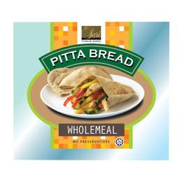 Wholemeal Pitta Bread