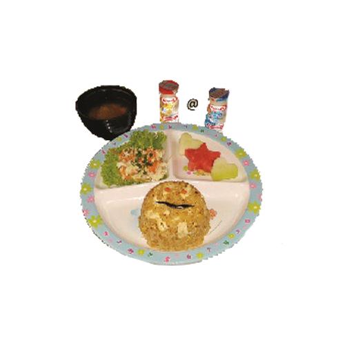 Kiddie Meal: Kiddie Chahan Set
