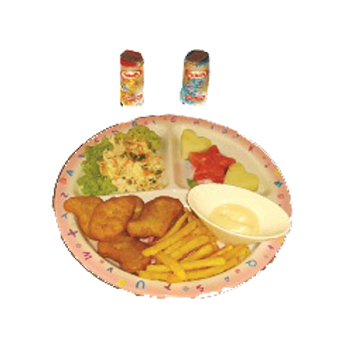 Kiddie Meal: Kiddie Tempura Nugget Set