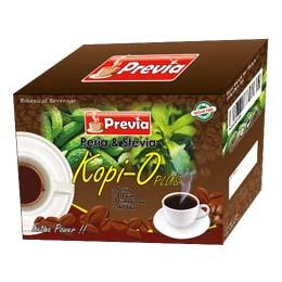 PREVIA Peria & Stevia Kopi O Plus