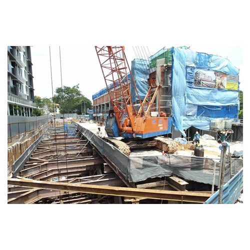 SHEET PILING AND DECKING WORKS