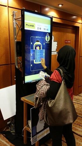 Interactive Vertical Info Kiosk