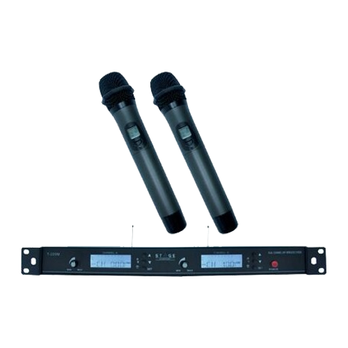STAGE Dual-Channel Wireless Microphone System