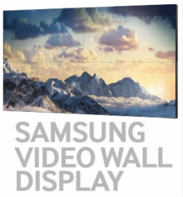 SAMSUNG Extreme Narrow Bezel Video Wall Systems