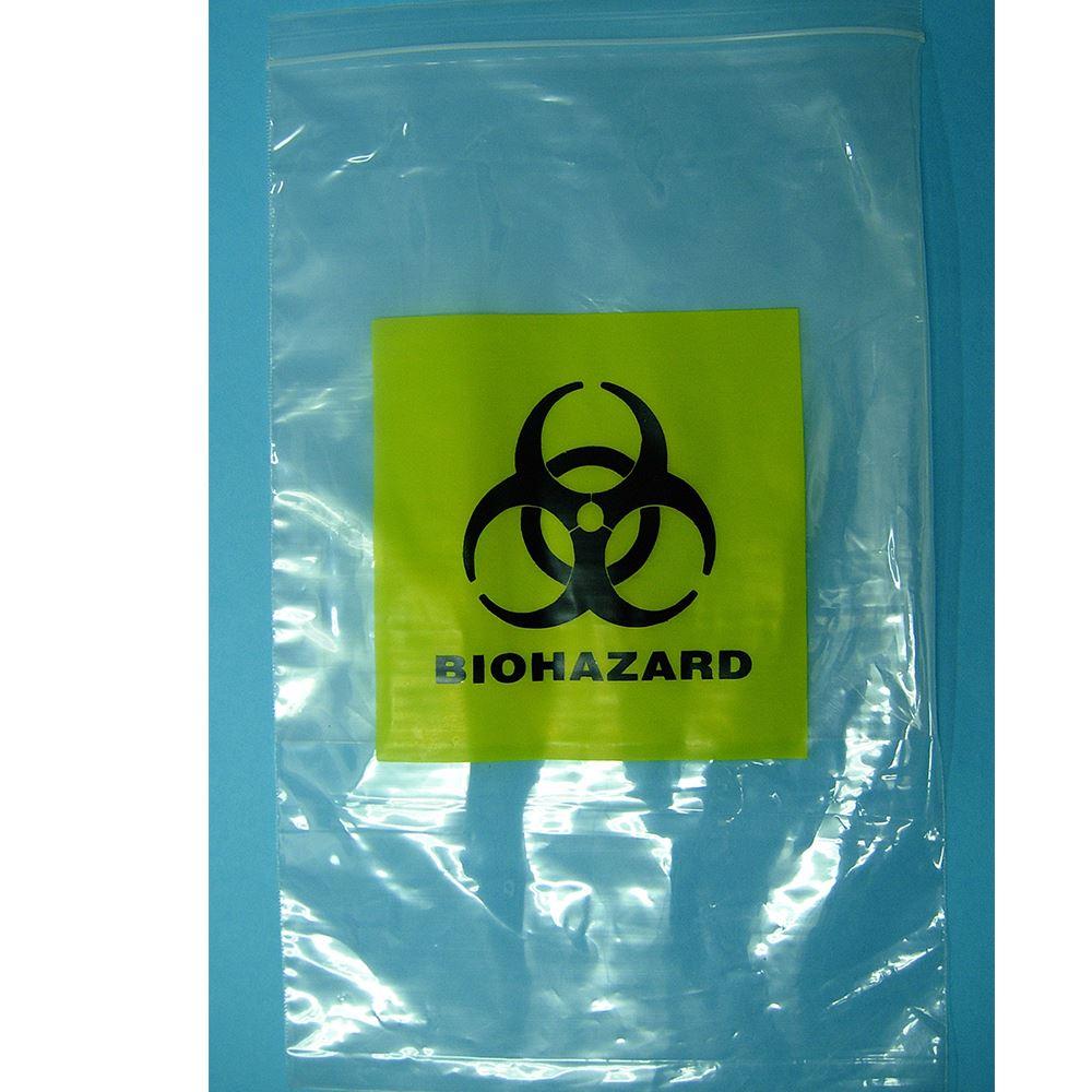 BIOHAZARD Kangaroo Zip Lock Bag