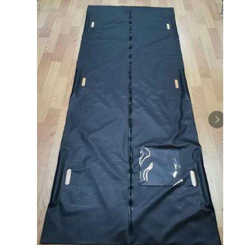 PVC Body Bag with Center Zipper Closure