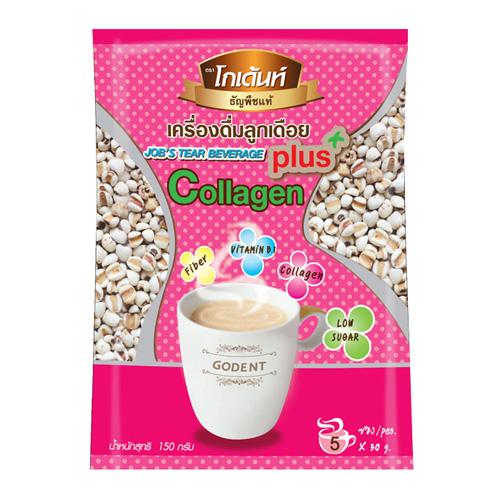 Drink Millet Cooked Mixture Of Collagen