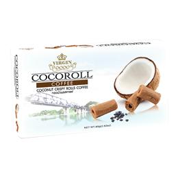 Coconut Crispy Rolls Coffee