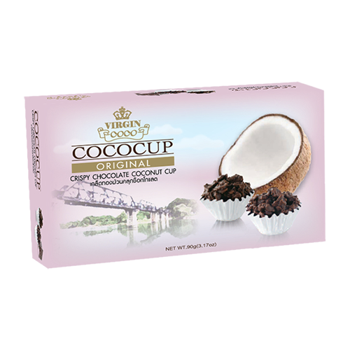 Crispy Chocolate Coconut Cup