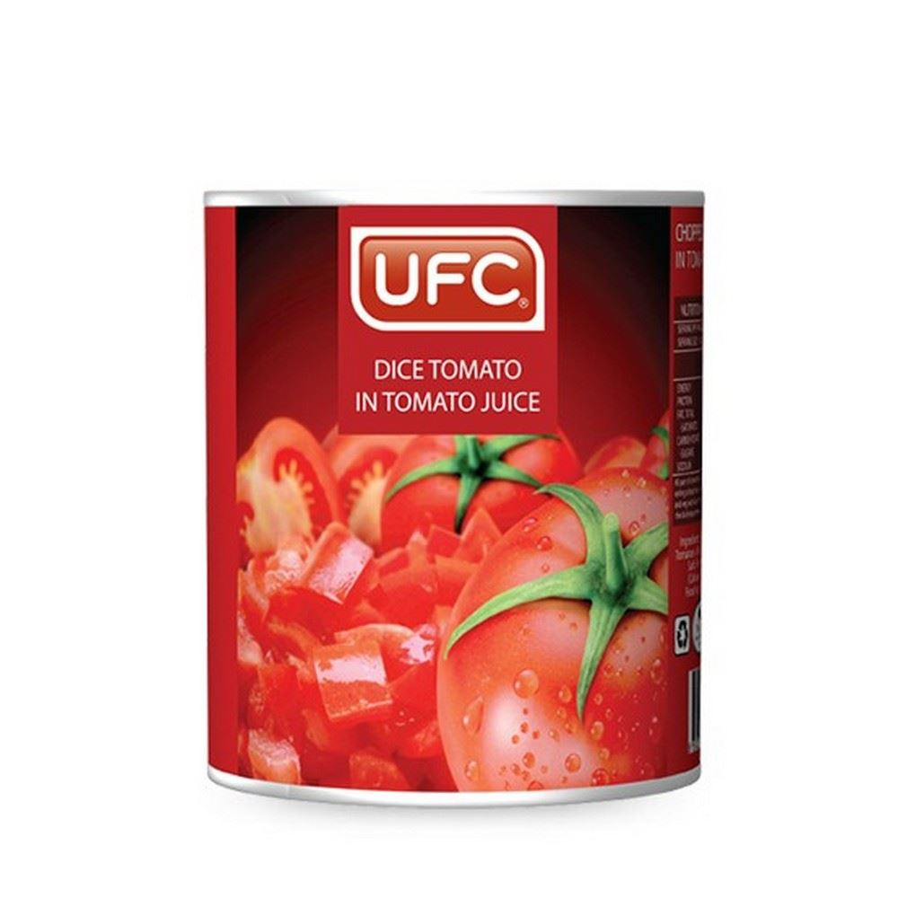 UFC Whole / Dice Tomato in Tomato Juice