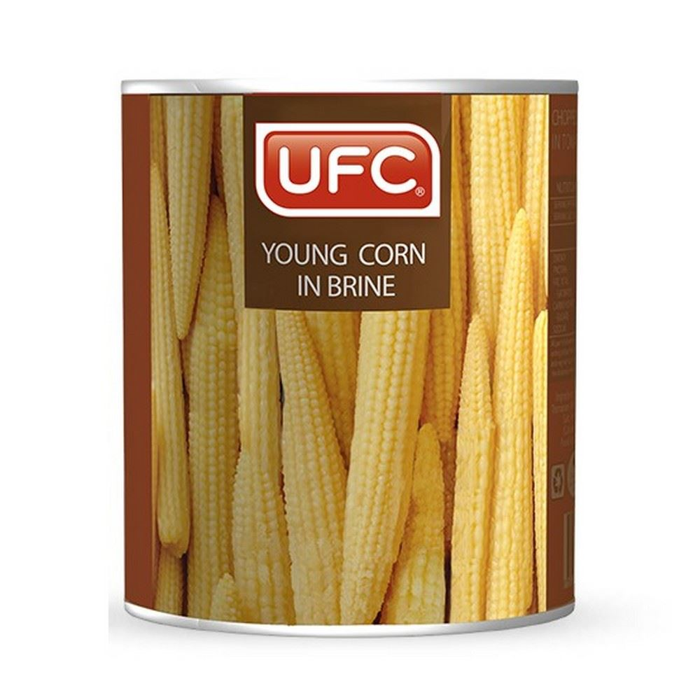 UFC Young Corn in Brine / Vinegar
