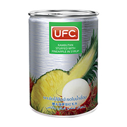 UFC Rambutan stuffed with Pineapple in syrup