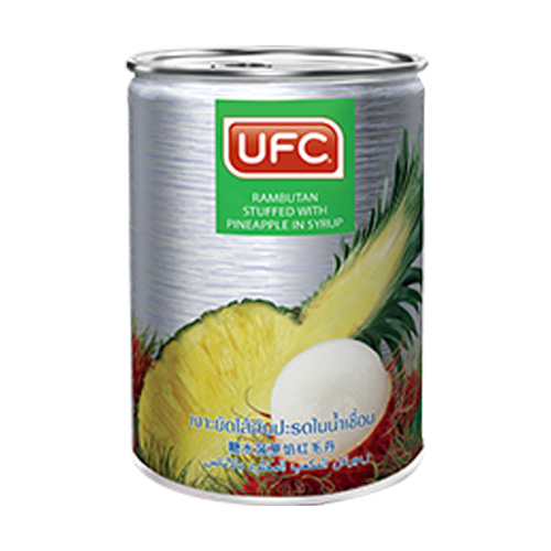 UFC Rambutan stuffed with Pineapple in syrup