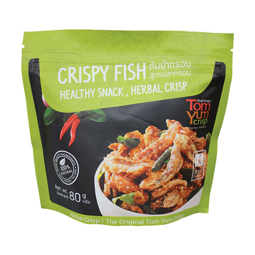 Crispy Fish Tom Yum Crisp
