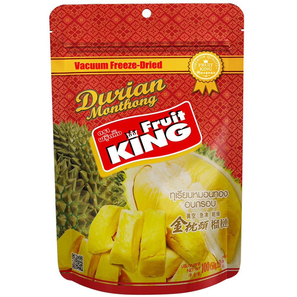 Freeze-Dried Monthong Durian (Gold Package)