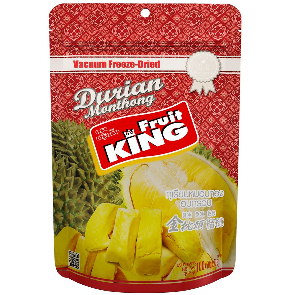 Freeze-Dried monthong Durian (Silver Package)