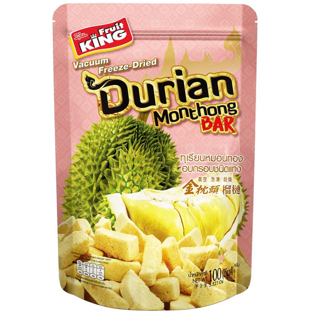 Freeze-Dried Monthong Durian Bar