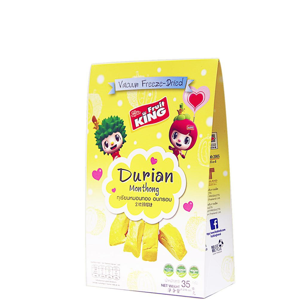 Freeze-Dried Monthong Durian (35g)