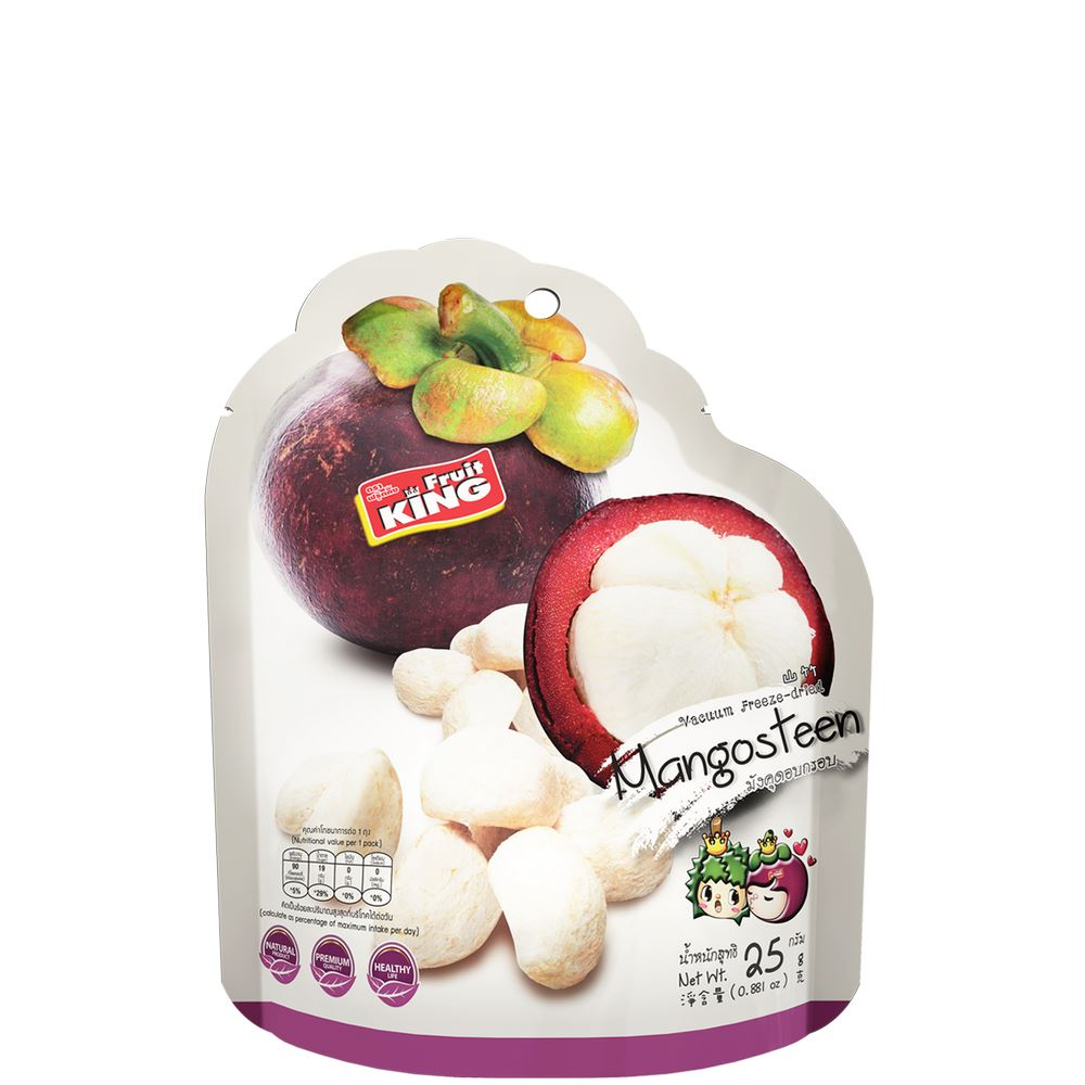 Freeze-Dried Mangosteen (25g)