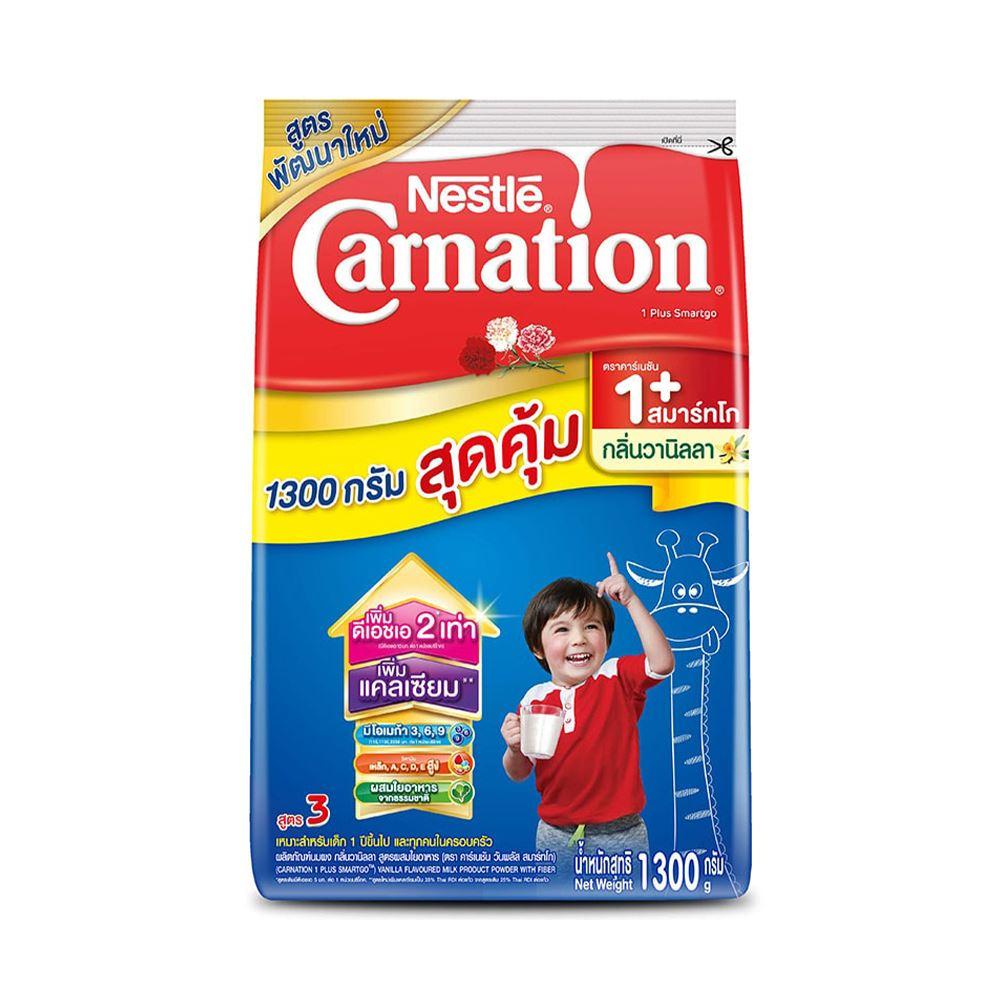 Carnation 1 Plus Smartgo Milk Powder with Vanilla