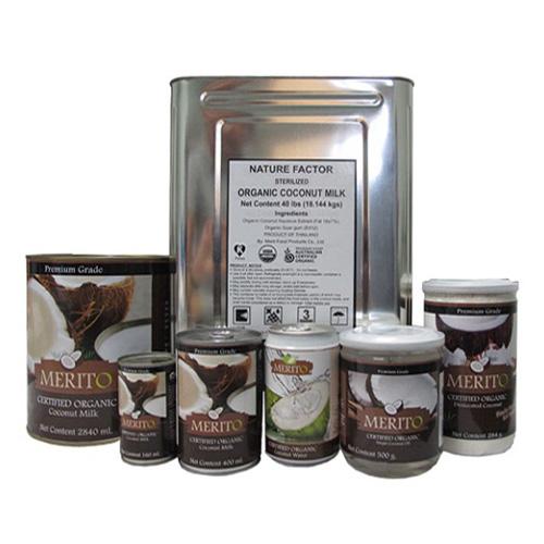 MeritO Organic Coconut Milk 2840ml