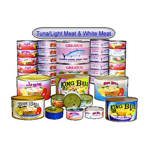 Tuna/Light Meat & White Meat
