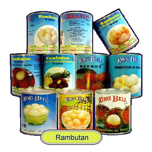 Canned Rambutan