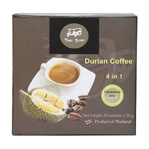 Durian instant coffee 4 in 1