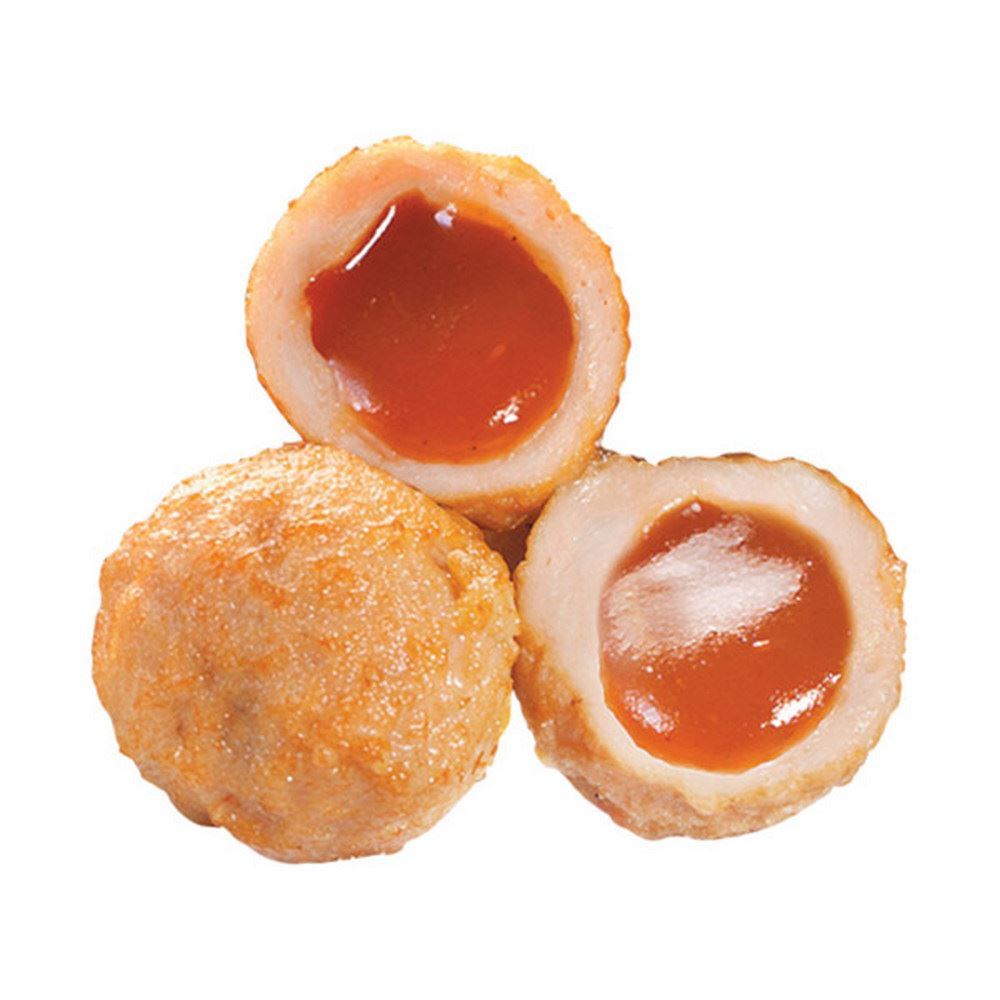 BoBo Chicken Meat Ball With Barbeque Sauce