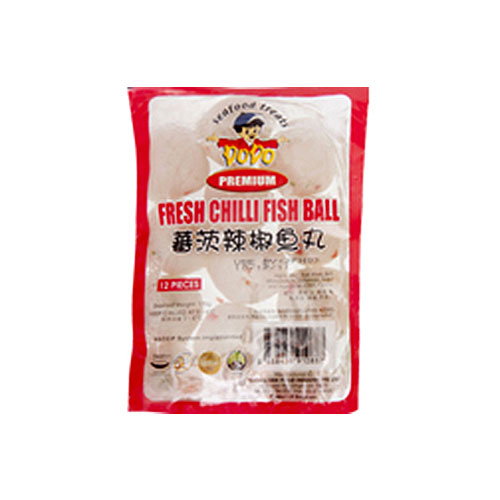 Fresh Chilli Fish Ball