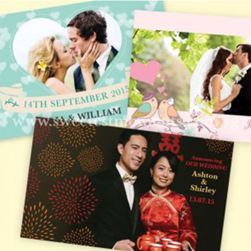 Additional Wedding Cards